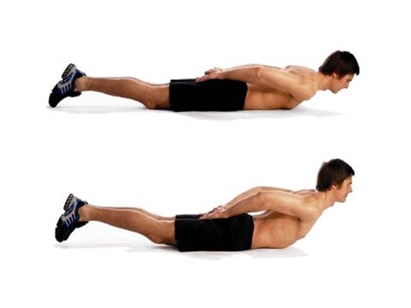 Накачать мышцы поясницы в домашних условиях