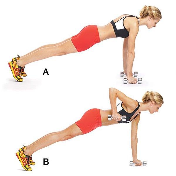 Как похудеть в руках упражнения без гантелей